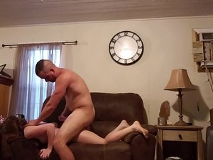 Step Daughter Painful Sex while mom is gone. Ashley White