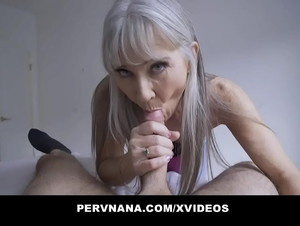 Perv Granny Leilani Lei Gives A Surprising Reward